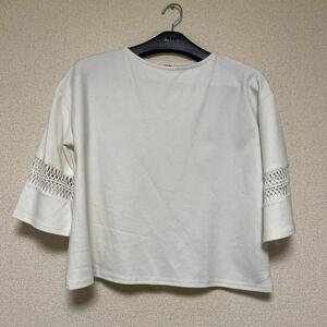 [S367]BEAMSビームス 半袖カットソー L位 トップス 中古 美品 レディース 大きいサイズ ファッション 試着程度の美品