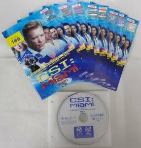 送料無料 レンタル落ち中古DVD CSI:マイアミ シーズン2 全8巻セット