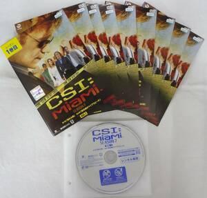 送料無料 レンタル落ち中古DVD CSI:マイアミ シーズン7 全9巻セット