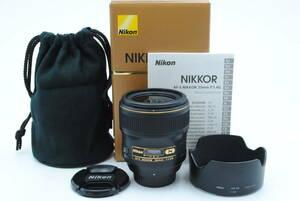 ★極上美品★ NIKON ニコン AF-S NIKKOR 35mm F 1.4G ★外観光学ともに極上級!!付属品充実!!