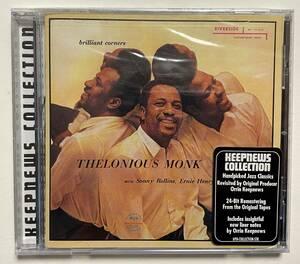 【未開封・長期保管CD・輸入品】 Thelonious Monk セロニアス・モンク ★ Brilliant Courners ブリリアント・コーナー