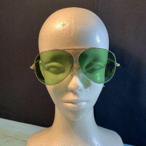サングラス ヴィンテージ 眼鏡 フレーム セル巻き アンティーク めがね 古道具 古い インテリア メガネフレーム (3234)