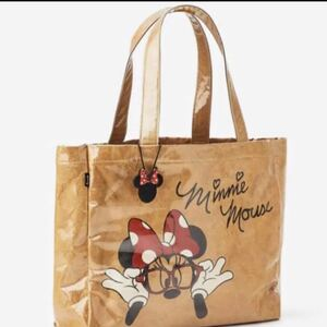 ディズニー ビニールトートバッグ ミニーマウス