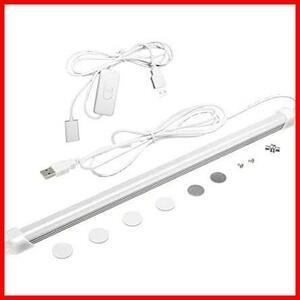 【大特価】USB接続式バーライト オン/オフスイッチ クールホワイト jkaj251 LEDライト usb給電 暖かい光 LED USB 目保護 電球