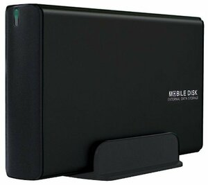 新品即決!♪ マットブラック USB3.0 玄人志向 HDDケース(マットブラック) 3.5型対応 USB3.0接続8J1A