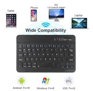 小型Bluetoothキーボード 黒 送料無料 ミニ 無線キーボード ブルートゥースキーボード ワイヤレスキーボード