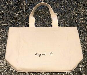 agnes b. トートバッグ Lサイズ アイボリー 新品未使用品