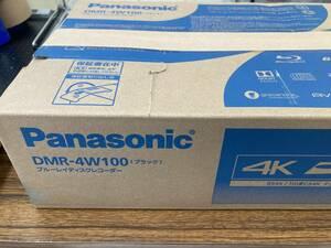 展示品 Panasonic DMR-4W100 新4K衛星放送の2番組同時録画対応モデル 1TB 21年9月購入メーカー1年保証