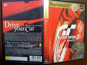 PS2 グランツーリスモ3 A-Spec MEGA HITS! SCPS72001/動作品