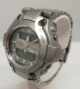 【箱付】CASIO カシオ G‐SHOCK MRG-130T 腕時計 MR-G アナデジ