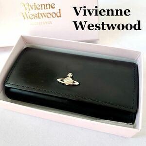 【美品】Vivienne Westwood ヴィヴィアンウエストウッド キーケース 5連キーケース オーブ ブラック レザー