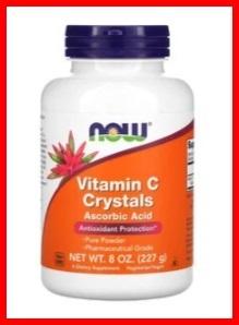 送料無料 ビタミンC サプリメント 健康食品 高品質 ビタミン C パウダー 内容量 227g(約206回分X1.1g) 栄養機能食品 NOWFoods製