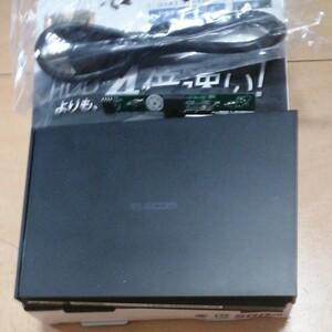 エレコム HDD ケース USB 3.1 抜き取り品