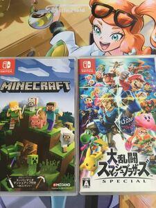 大乱闘スマッシュブラザーズSPECIAL マインクラフト(Minecraft) Nintendo Switch