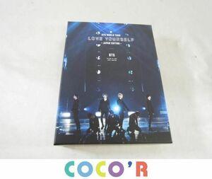 【同梱可】良品 韓流 防弾少年団 BTS Blu-ray WORLD TOUR LOVE YOURSELF JAPAN EDITION