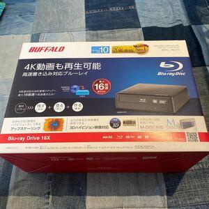 外付け Blu-rayドライブ【BRXL-16U3V】
