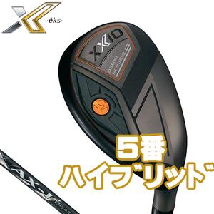 2020 ゼクシオ エックス ハイブリッド  5番UT SR Miyazaki AX-1 新品 XXIO eks