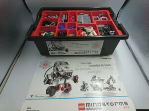 ★美品★LEGO mindstorms education EV3 45544 教育版LEGO マインドストームEV3 基本セット★9922000204 09/01 S