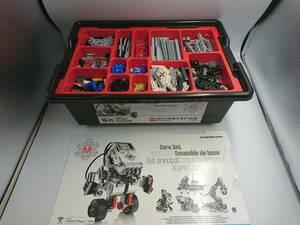 ★美品★LEGO mindstorms education EV3 45544 教育版LEGO マインドストームEV3 基本セット★9922000205 09/01 S