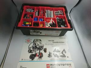 ★美品★LEGO mindstorms education EV3 45544 教育版LEGO マインドストームEV3 基本セット★9922000206 09/01 S