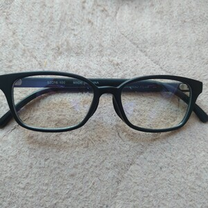 メンズのダテメガネ