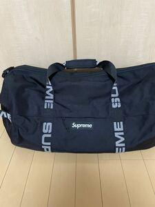 supreme 18SS Duffle Bag ダッフル バッグ ブラック