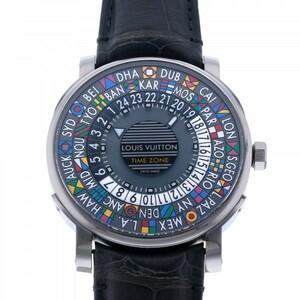 ルイ・ヴィトン LOUIS VUITTON エスカル タイムゾーン Q5D200 マルチカラー文字盤 中古 腕時計 メンズ