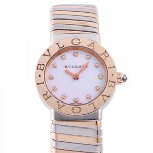 ブルガリ BVLGARI ブルガリブルガリ トゥボガス BBL262TWSPG/12 ホワイト文字盤 新品 腕時計 レディース
