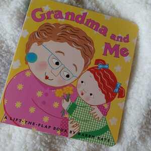 洋書絵本Grandma and me仕掛け絵本