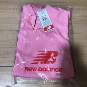 インナー アンダーシャツ 長袖 ピンク ニューバランス メンズ Lサイズ ハイネック サッカーフットサルウェア