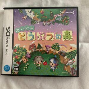 任天堂DS おいでよどうぶつの森