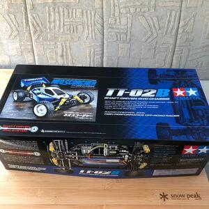 新品未開封 ネオスコーチャー TT-02B タミヤ 1/10 電動RC 4WD
