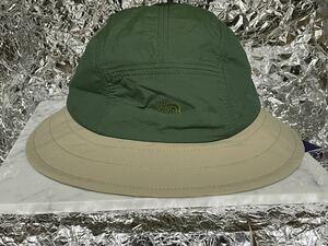 新品未使用 NN8105N THE NORTH FACE PURPLE LABEL Lounge Field Hat og olive green F
