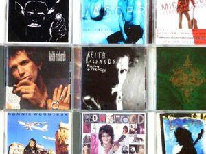 CD ザ・ローリング・ストーンズ 関連メンバーソロアルバムまとめて9枚セット Mick Jagger/Keith Richards/Ron Wood