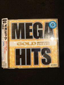 613 レンタル版CD MEGA HITS GOLD-SUPER HITS PARADE-/オムニバス 43382