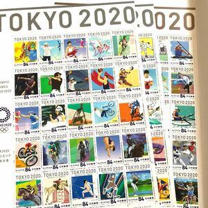 2020 東京オリンピック 切手 バラ 10枚