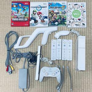 Nintendo Wii 任天堂Wii 本体 ケーブルセット