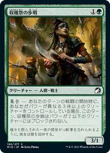 MTG 収穫祭の歩哨 コモン マジック:ザ・ギャザリング イニストラード:真夜中の狩り MID-186   日本語版 クリーチャー 緑