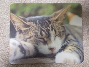 【かわいい ねこ マウスパッド 18×22㎝】猫 ネコ キャット ★すぐに発送します!★