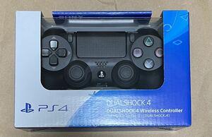 PS4 ワイヤレスコントローラー 純正 デュアルショック4 新品 プレステ 黒