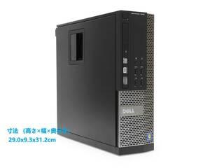 ■驚速小型 省スペースPC i7-3770 3.9G x8/16GB■新SSD:240GB+HDD1TB Win10/Office2019 Pro/USB3.0/無線LAN■DELL OPTIPLEX 7010 SFF 6B