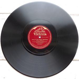 SP ロシア民謡 ヴォルガの舟歌 リムスキー=コルサコフ 予言者 フョードル・シャリアピン 米盤