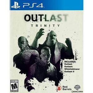 PS4 ソフト OUTLAST TRINITY(北米版)