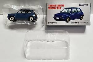 希少品 トミーテック トミカリミテッド ヴィンテージ ネオ ニッサン Be-1 キャンパストップ 実車は1万台の限定生産 LV-N40a ミニカー
