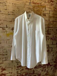 60s ARROW OXFORD B.D.SHIRT ヴィンテージ ビンテージ オックスフォード BDシャツ ボタンダウンシャツ 白シャツ 3点留め アメトラ 50s