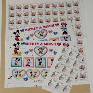 ディズニーミッキーマウス記念切手シート 他まとめ売り記念切手シート 他まとめ売