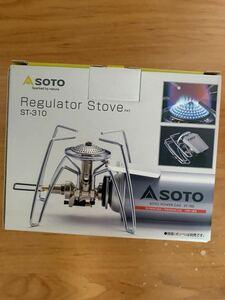 【新品】SOTO レギュレーターストーブ ソト ST-310 シングルバーナー