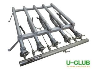 ◇AH2801(3)|バーナー LPガス 部品 鉄板テーブル お好み焼き W490XD560XH140mm 業務用 店舗用 中古 プロパンガス