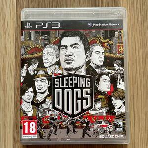 PS3ソフト EU版 SLEEPING DOGS (18歳以上対象国内版本体動作可)