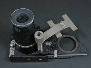 Leitz「ライカ用接写装置 OOZAB&垂直ルーペLVFOO」